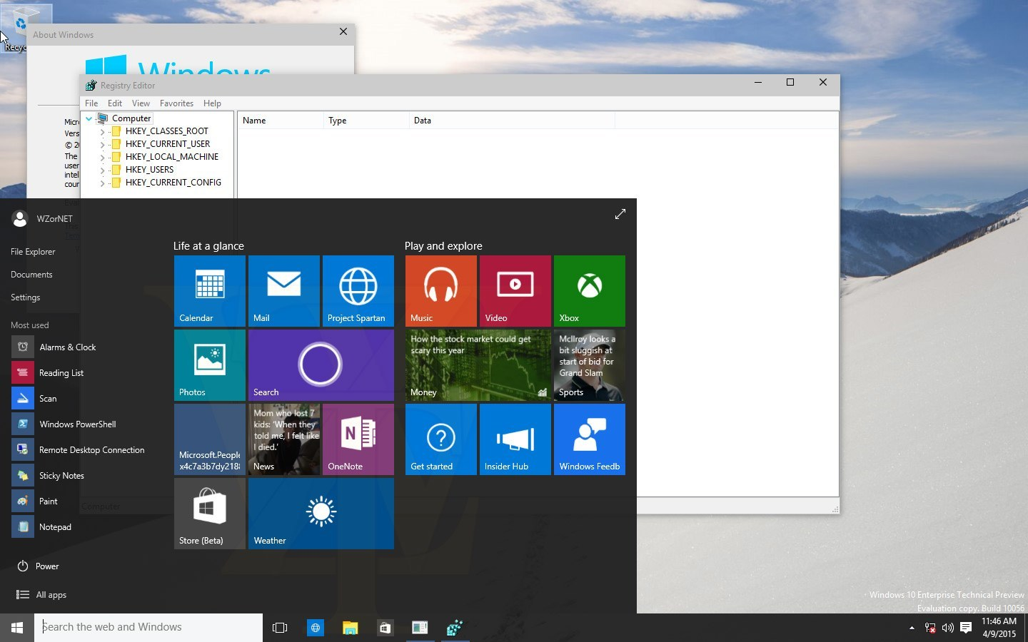 screenshot windows 10