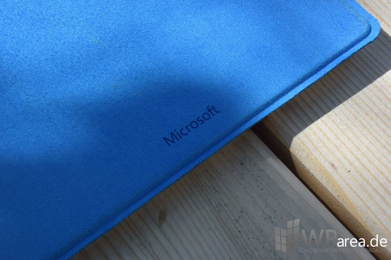 Surface 3 Review Microsoft Logo Schrift