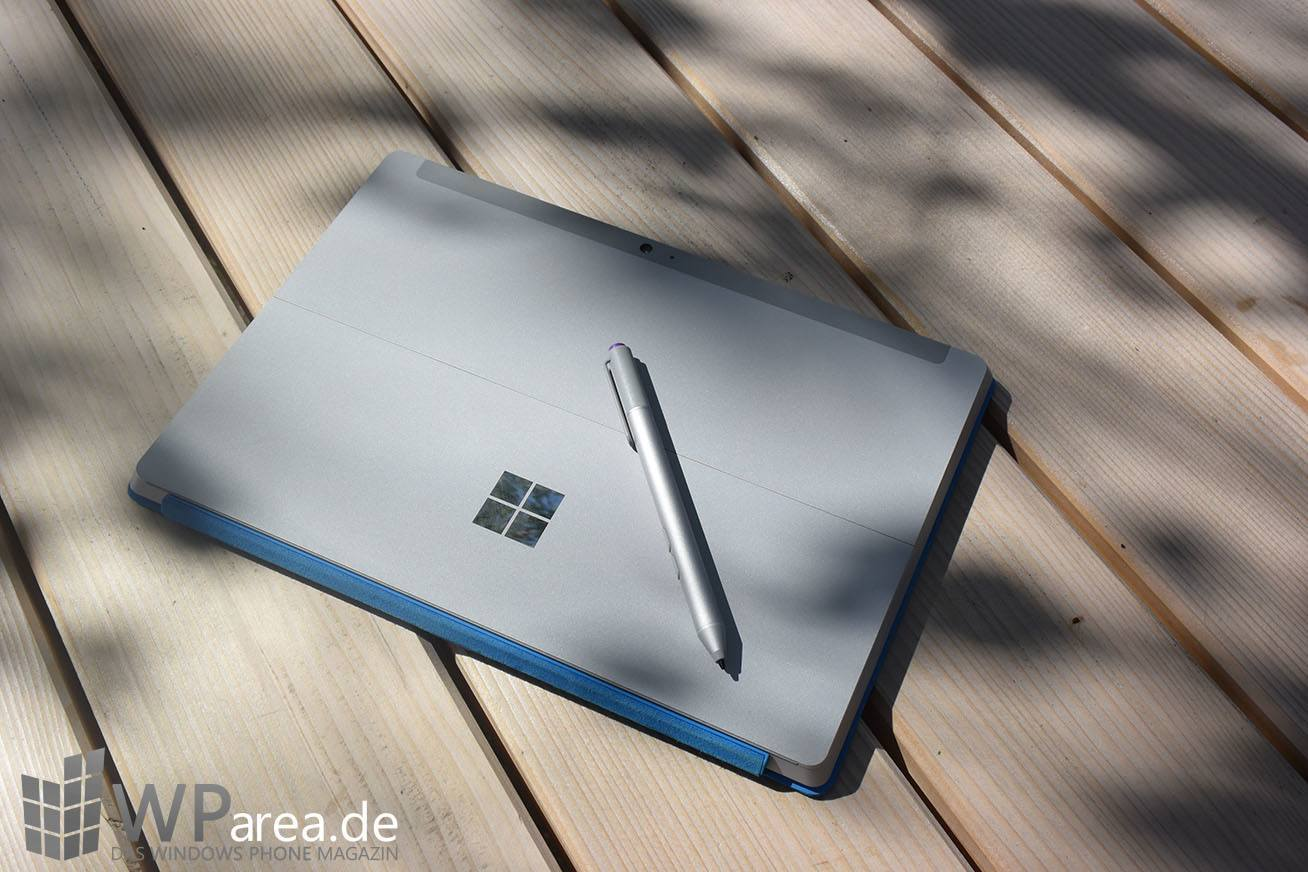Surface 3 Review Rückseite Surface Pen