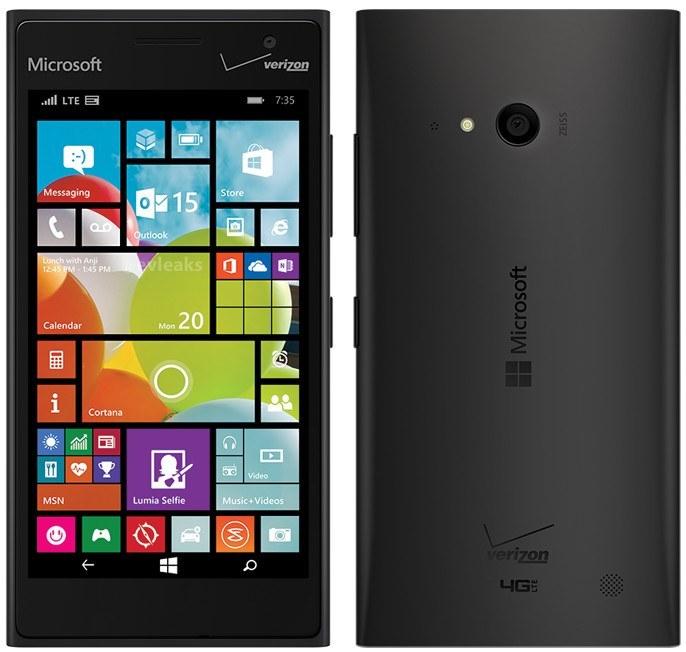 evleaks Microsoft Lumia 735