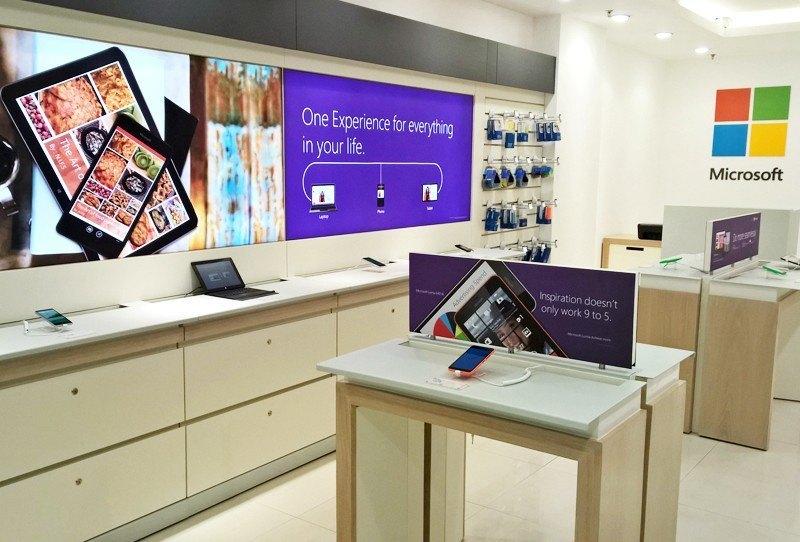 Microsoft: Wandlung von Nokia Stores in Microsoft Räumlichkeiten hat begonnen