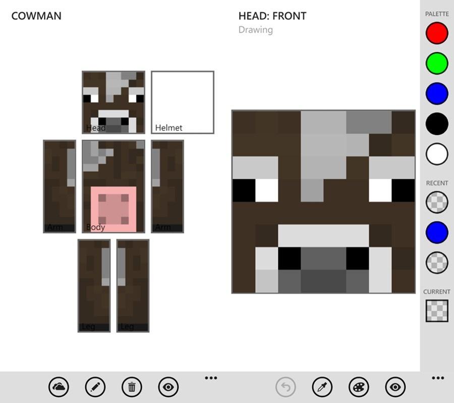 AppTipp Erstelle Deinen Eigenen Minecraft Skin Mit MC Skin Editor - Eigene skins fur minecraft erstellen