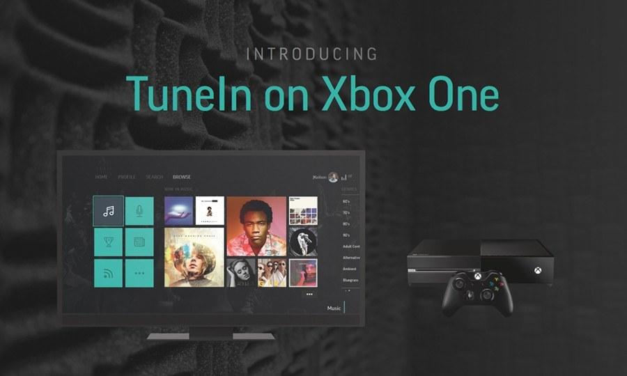 TuneIn: Bekannte Radio-App nun auch für die Xbox One verfügbar