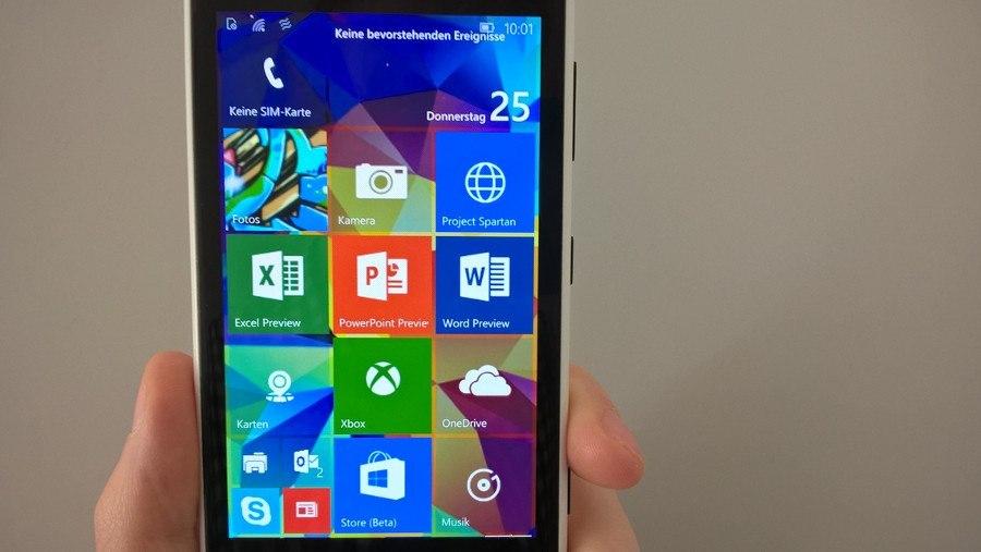 Windows10Mobile_Build10136_Startbildschirm01