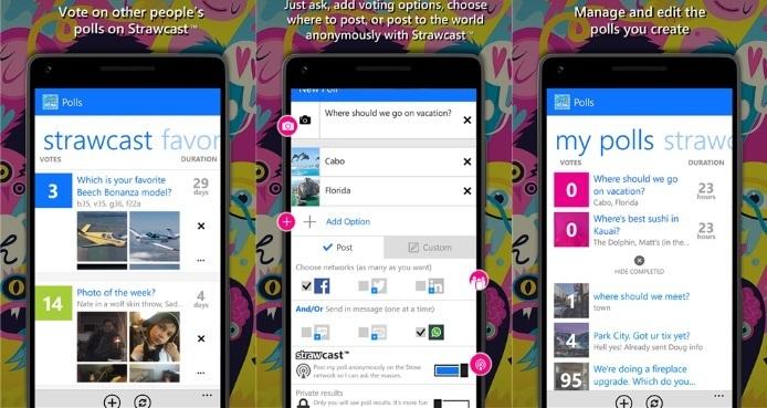 Straw 2.0.5: Die Umfrage-App für Windows Phone, Android und iOS erhält großes Update