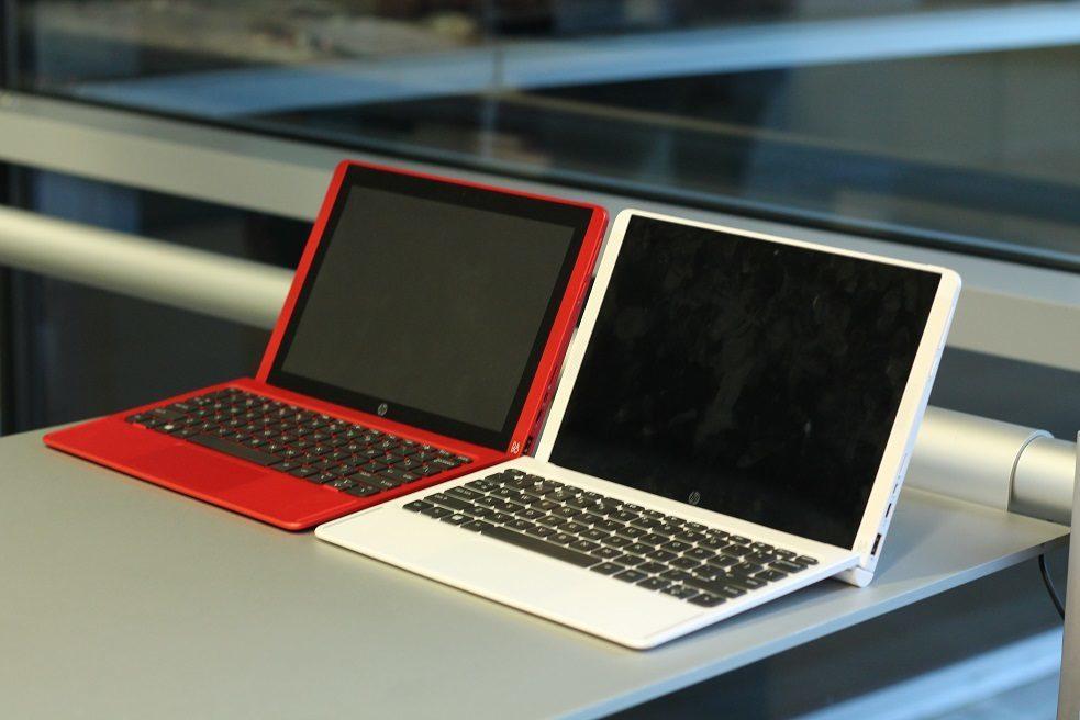HP Pavilion x2 2015 Hands-On rot und weiß