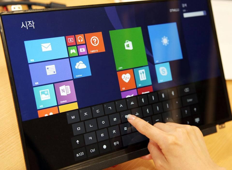 LG präsentiert dünnere und leichtere Displaytechnologie