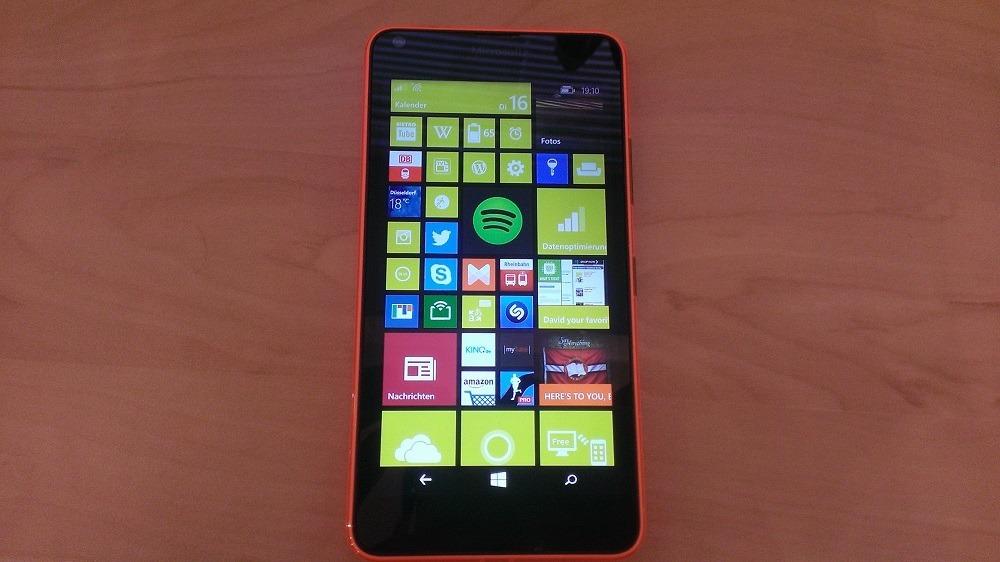 Microsoft Lumia 640 Vorderseite