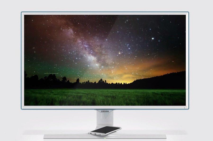 Samsung präsentiert neuen Full-HD Monitor mit Windows 10 Zertifizierung und Wireless Charging