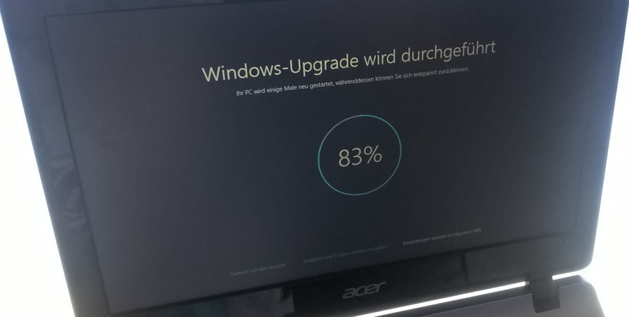 Microsoft spendet 650 US-Dollar für automatisch installiertes Windows 10-Update