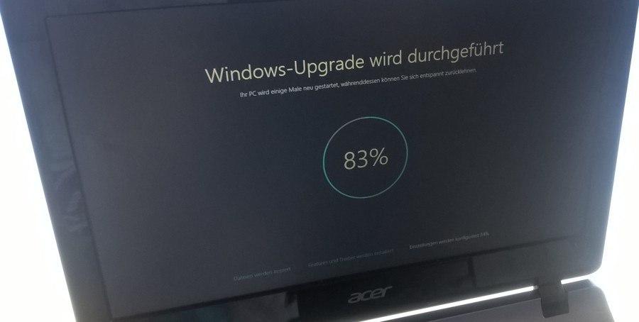 Windows 10 Upgrade-Titelbild