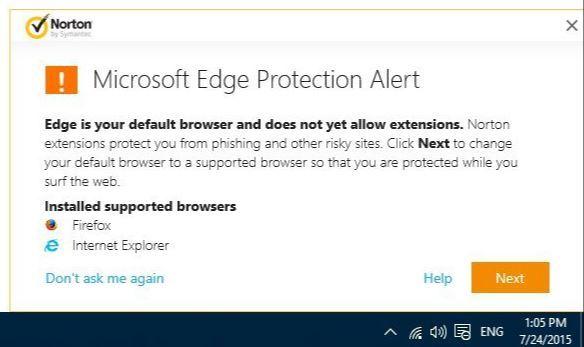 Windows10_MicrosoftEdge_NortonAntiVirus