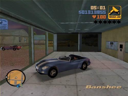 GTA 3 Banshee