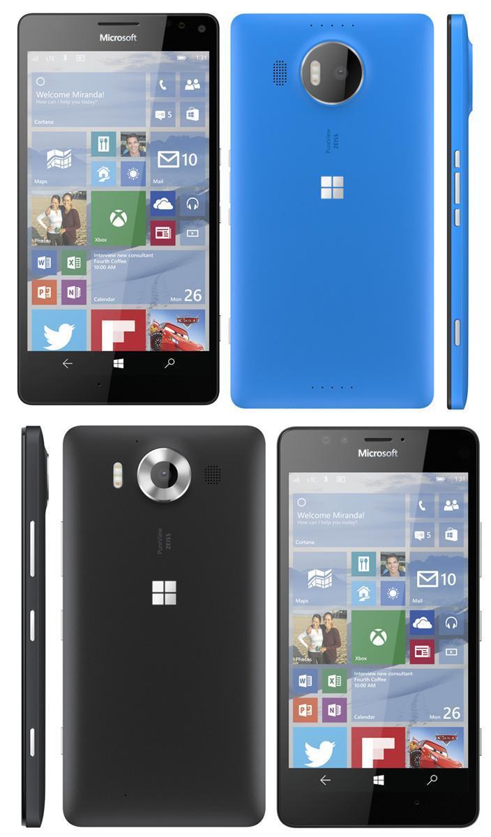 Microsoft Lumia 950 950XL Leak evleaks