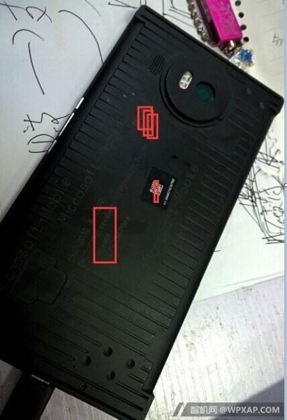 Microsoft Lumia 950 Prototyp Leak Rückseite