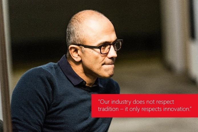 Satya-Nadella-Quote-Zitat-Industry-Tradition-Innovation