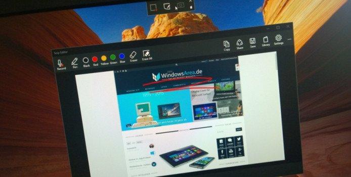 Snip – Microsoft veröffentlicht neues Screenshot-Tool für Windows 7, 8 & 10