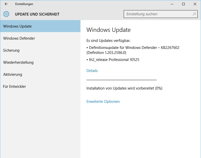 Windows 10 Insider Preview 10525