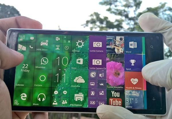 Windows 10 Landscape Querformat