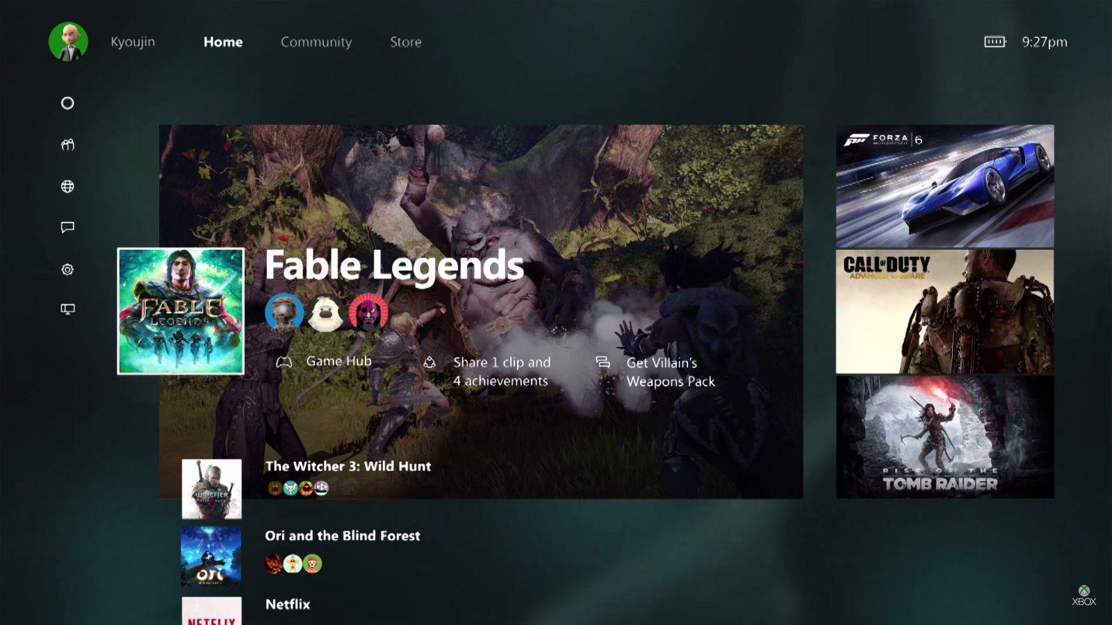 Xbox-One-Windows-10-Dashboard