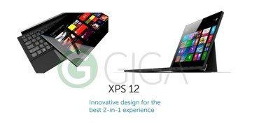 Dell XPS 12 giga leak
