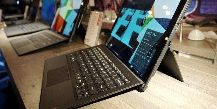 Das Miix 700 ist Lenovos Antwort auf Microsofts Surface-Reihe