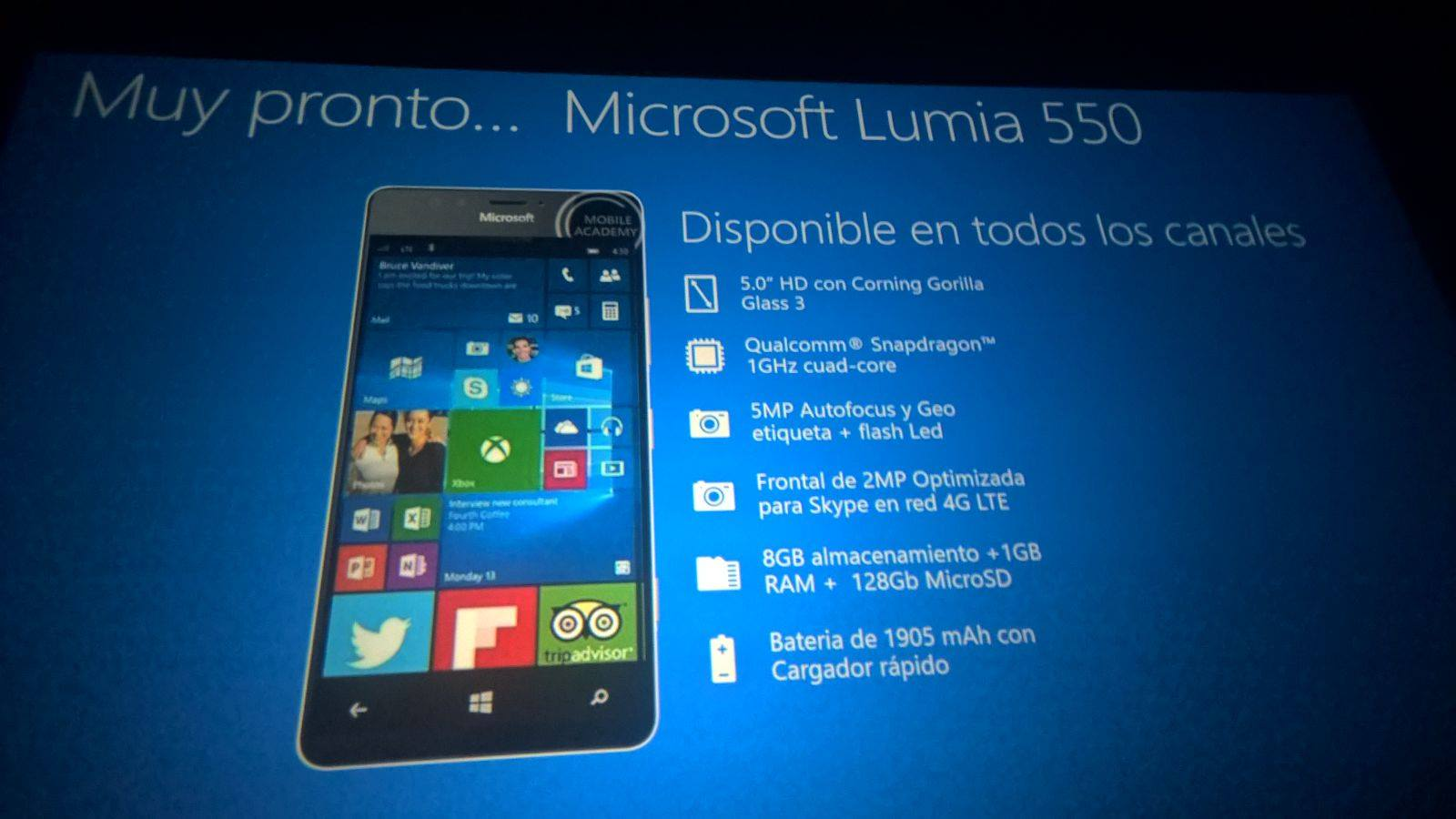 Lumia 550 - Leak