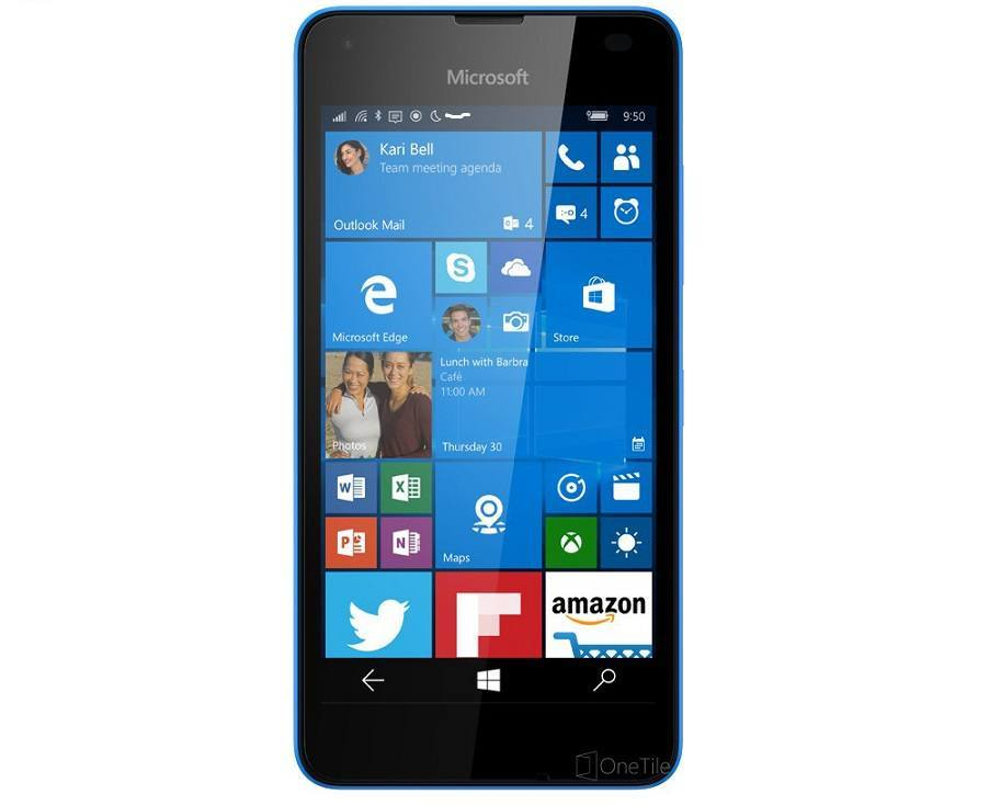 Microsoft Lumia 550 Render leak