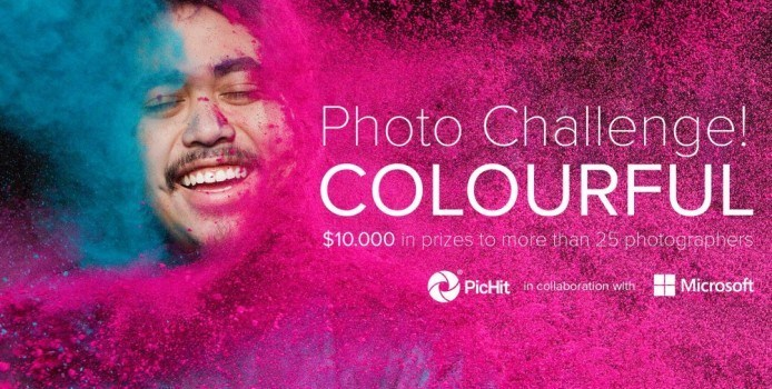 PicHit.Me Colourful Photo Challenge