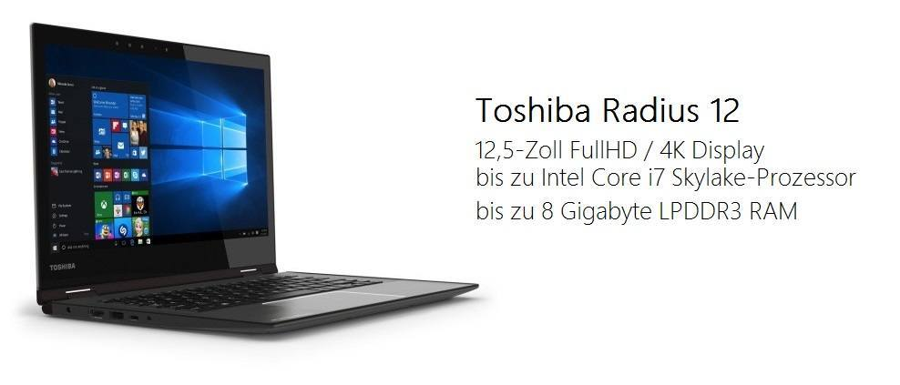 Toshiba Radius 12 IFA 2015