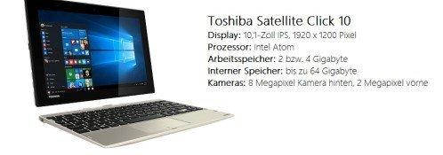 Toshiba Satellte Click 10