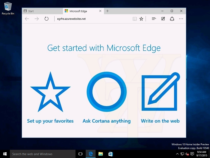 Windows 10 Build 10540 Microsoft Edge Help