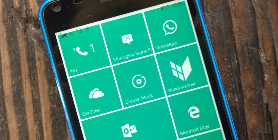 Microsoft-Telefon Windows 10 Mobile