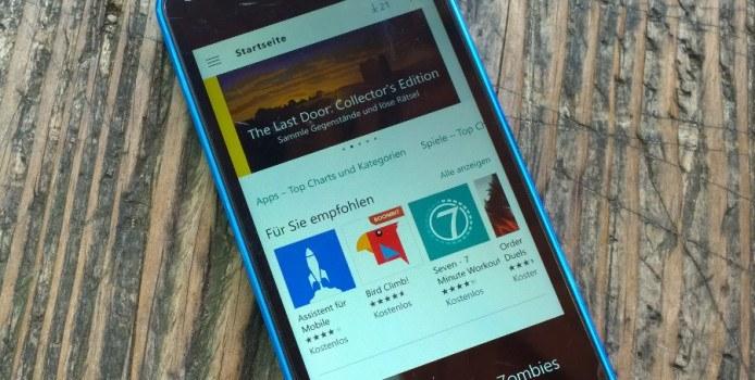 Windows 10 Mobile: Fehler 0x803F8006 offenbar behoben