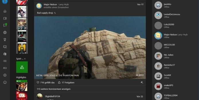 Xbox One und Xbox Beta App unterstützen nun Gruppenchats