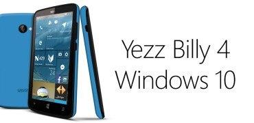 Yezz Billy 4 Windows 10