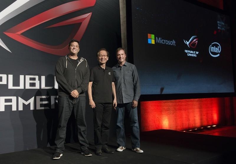 ASUS CEO Microsoft VP Gaming 2015