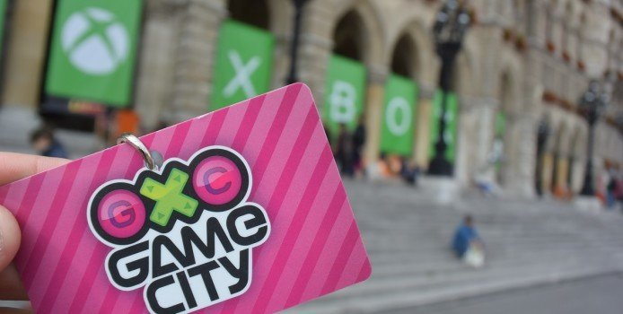 GameCity Logo Karte Game City 2015 Wien