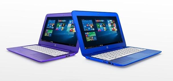 HP Stream 11 und 13 violett blau