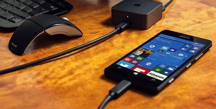 Lumia 950 Continuum wide