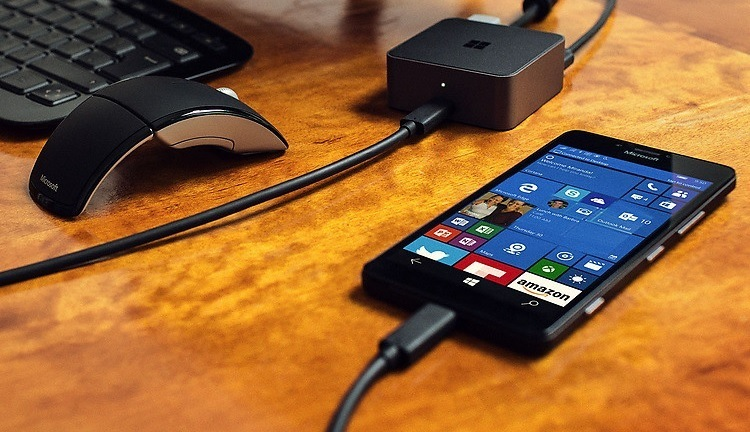 Lumia 950 Continuum wide
