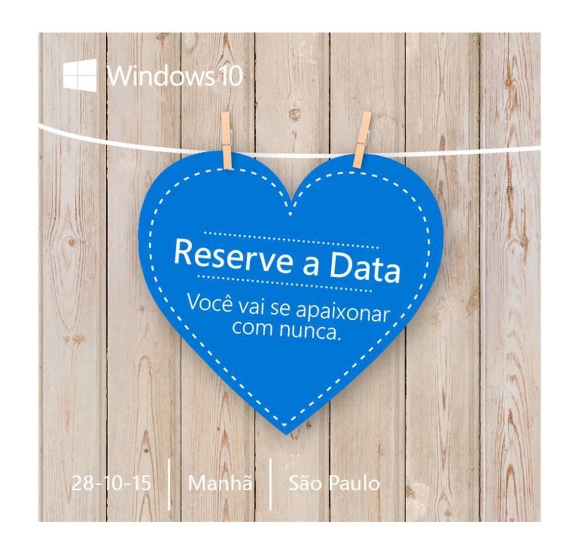Microsoft Event Einladung Brasilien