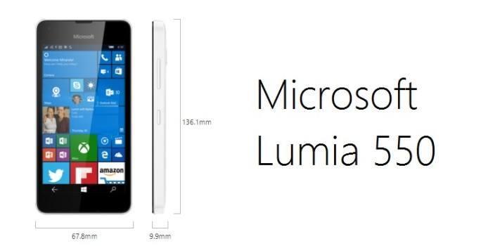 Microsoft Lumia 550: Alles, was ihr wissen müsst