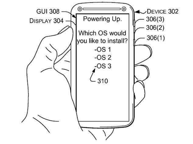 Microsoft MultiOS Patent
