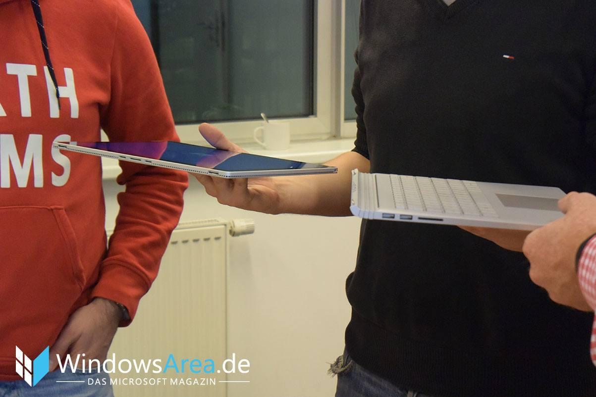 Microsoft Surface Book detached Tablet Display Tastatur Keyboard