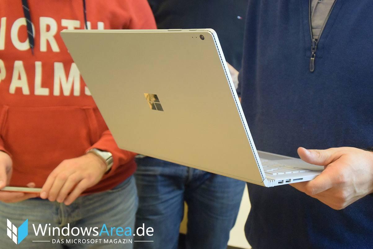 Microsoft Surface Book rückseite