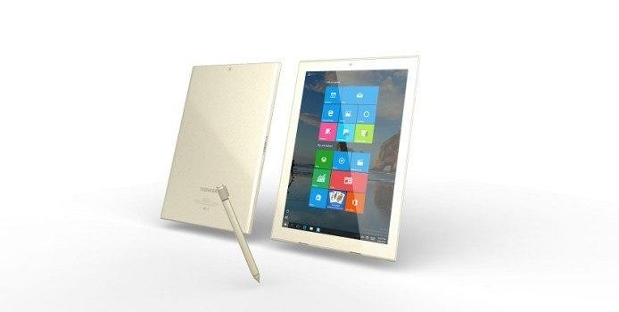 Toshiba DynaPad-Tablet offiziell vorgestellt