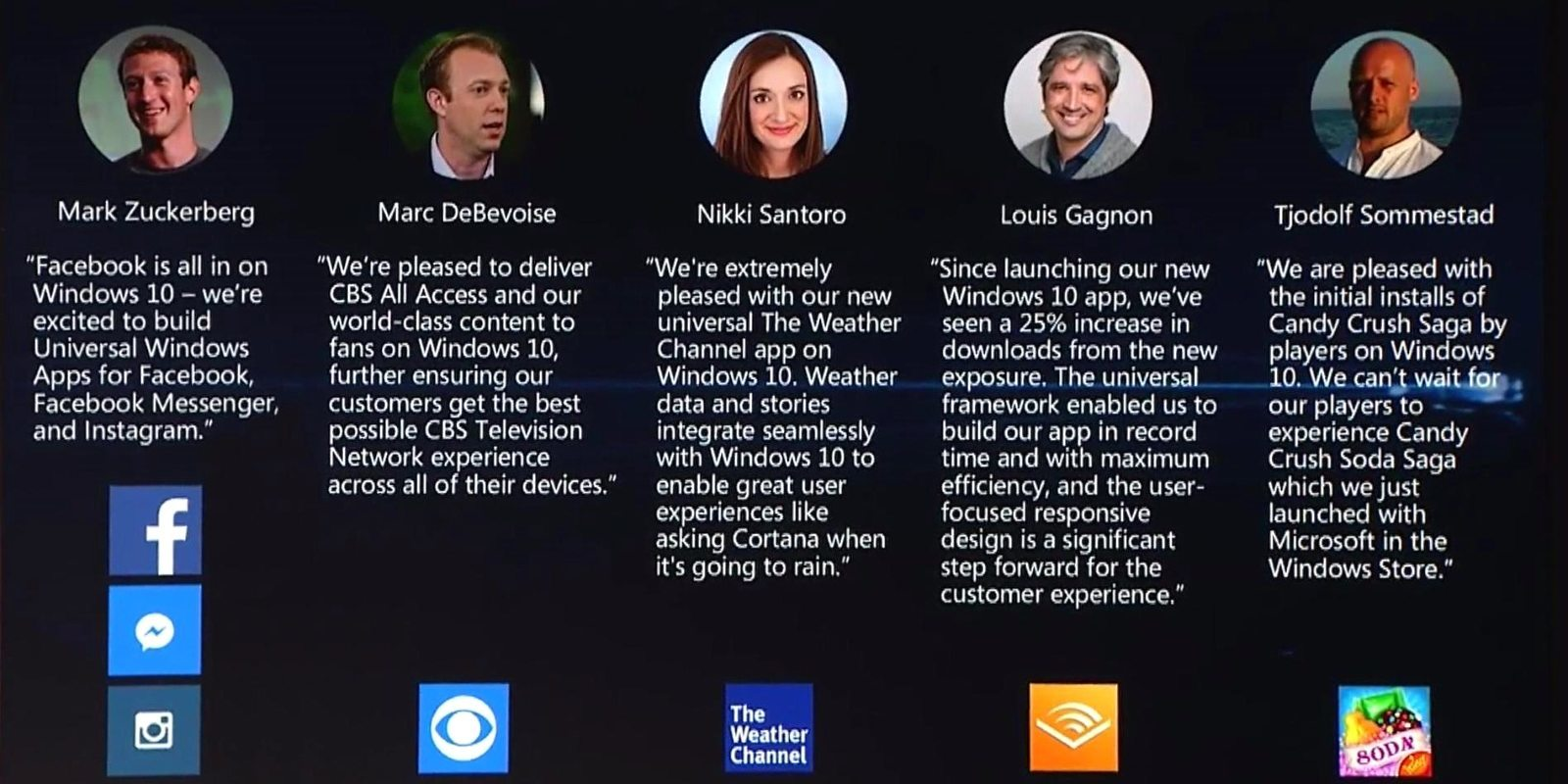 Neue Universal Apps