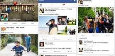 Facebook v10 - Screenshots