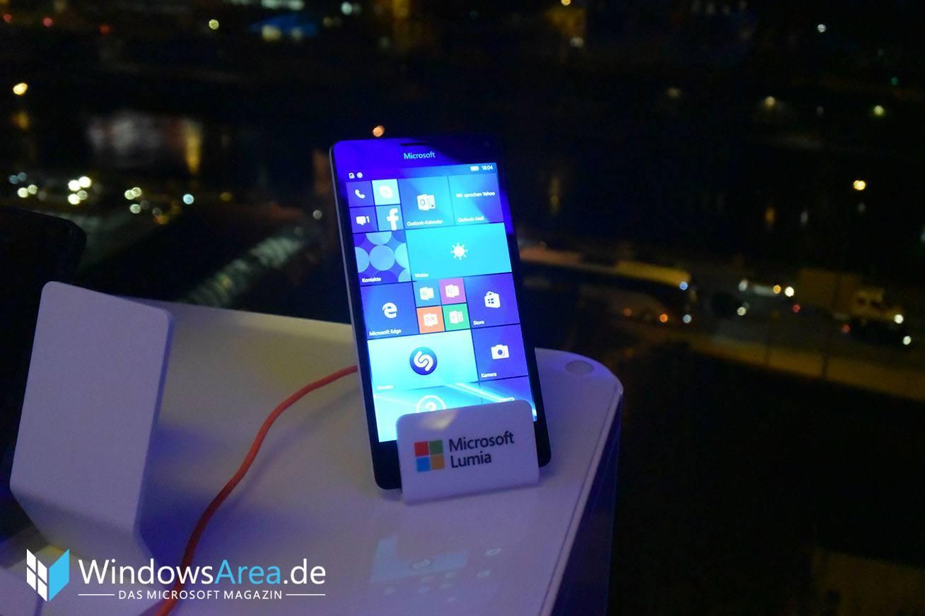 Microsoft Lumia 950 Display front